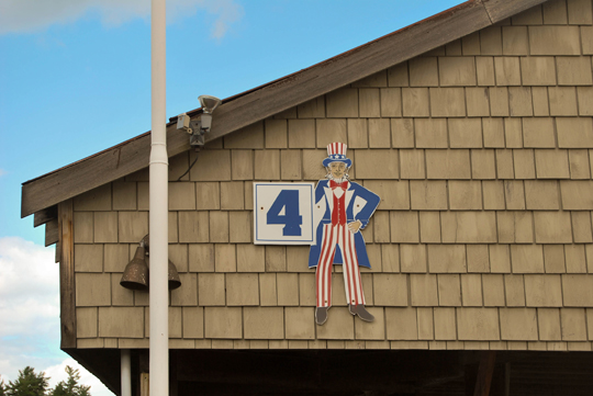Uncle Sam on the Docks