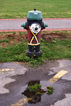 """Soldier"" Fire Hydrant"