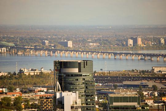 Montreal's Skyline