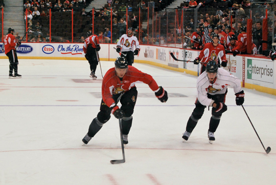 Ottawa Senators Practice at Canadian Tire Centre