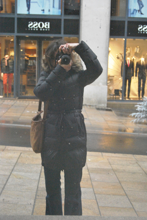 Self Portrait in Nantes, December 2013