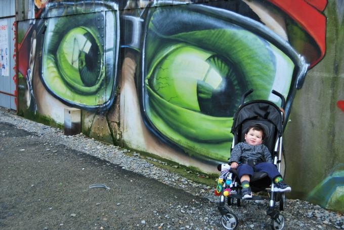 Wall Art at the Isle of Nantes