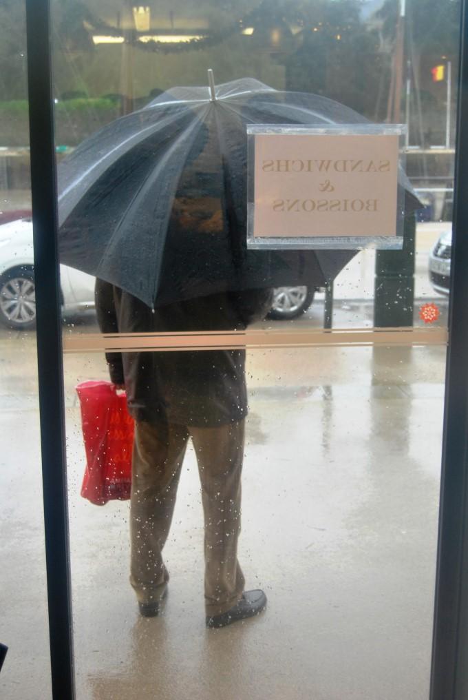 Rain in Nantes