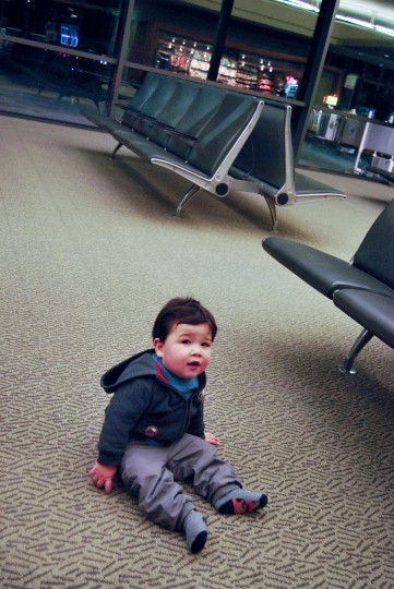 Mark at Ottawa Airport