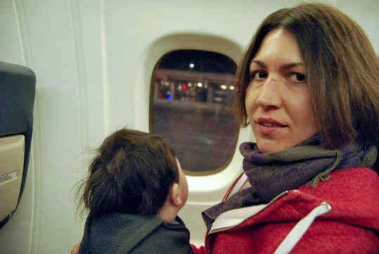 Flight to Montreal