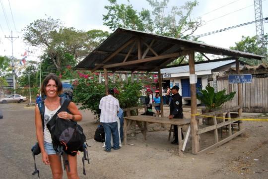 Entering Nicaragua
