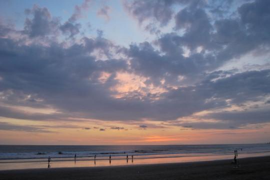 Sunset in Jacó