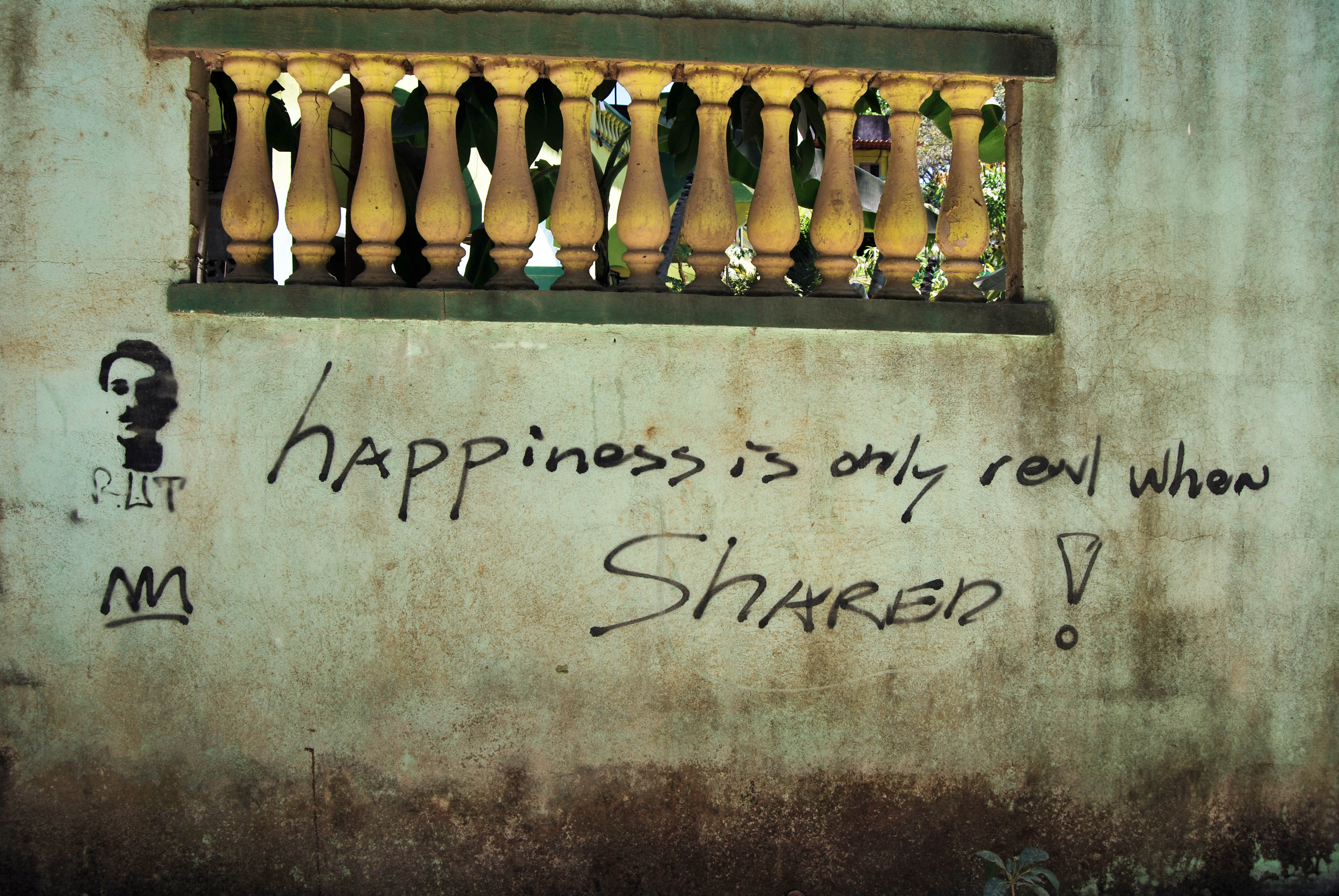 Happiness is Only Real When Shared (Malpais, Costa Rica)