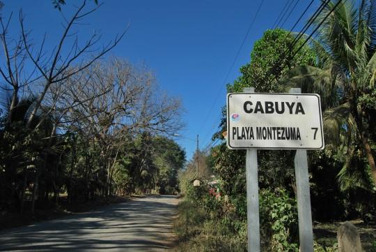 Cabuya/Montezuma Road