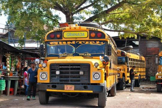 Chicken Bus to Masaya