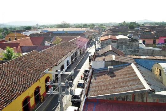 Street of León