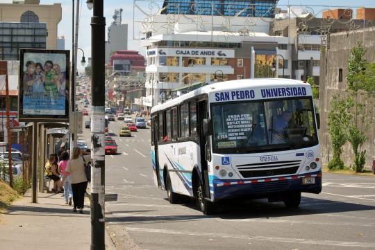 Buses in San José