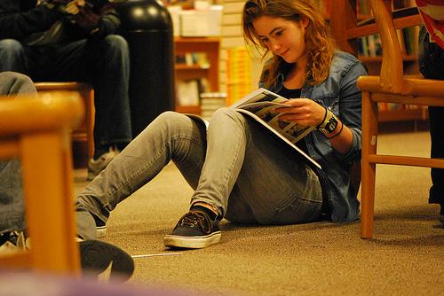 Strangers Reading at Chapters, Ottawa, September 2011