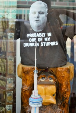 Rob Ford Tees in Chinatown