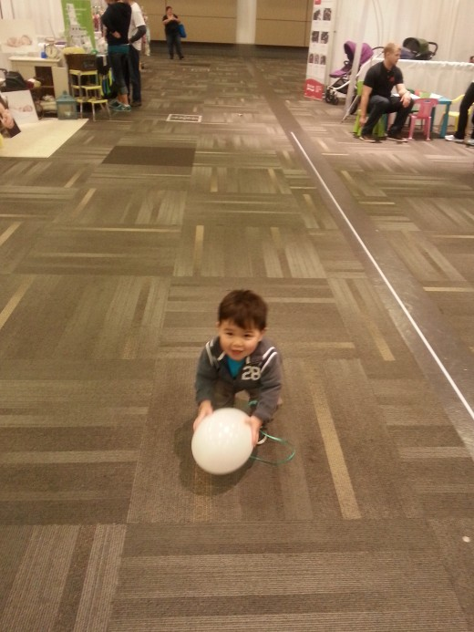 Mark and the Helium Balloon