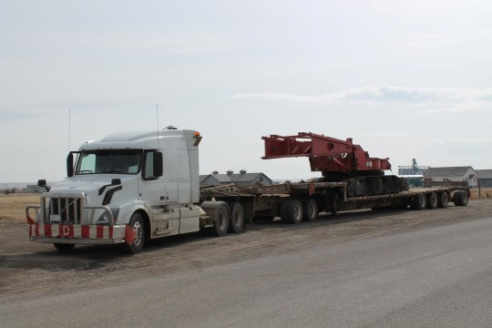 Martin, A French Truck Driver in Canada