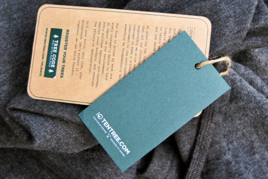 Ten Tree Clothing Tags