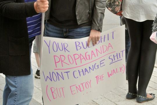 Your Bullshit Propaganda Won't Change Shit (But Enjoy The Walk)