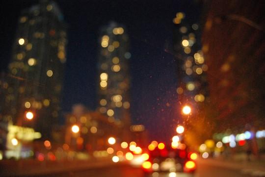 Late Night Drive, Stuck in Traffic