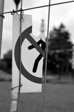 Broken Sign