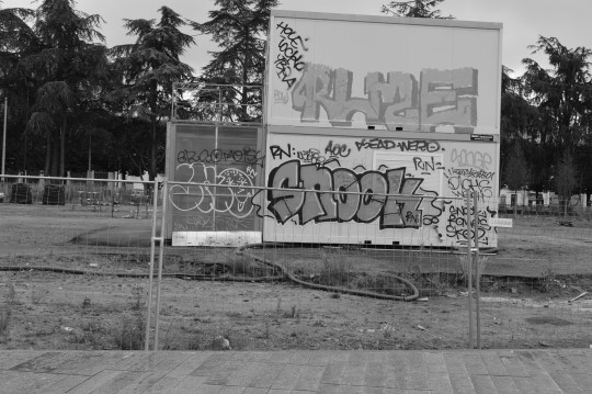 Graffiti by the Castle