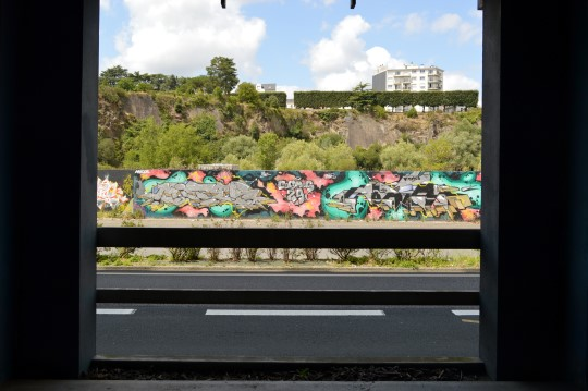 Graffiti Along the River