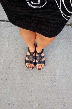 The Last Pair of Sandals, Ottawa, August 2014