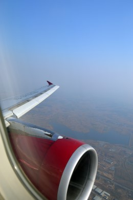 Flight to Shenyang