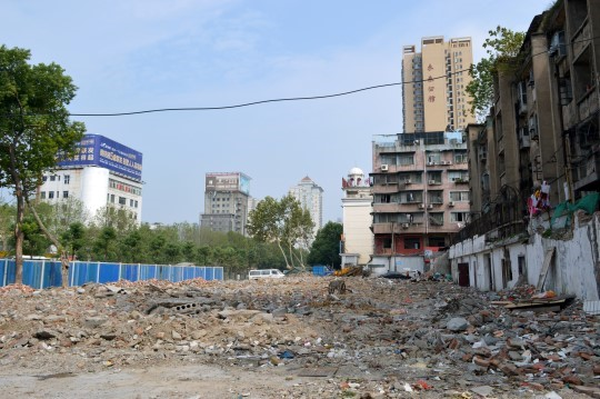 Construction Site in Wuhan