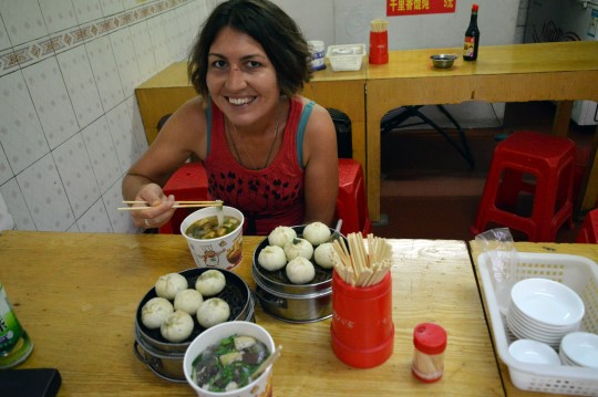 Steamed Buns and Noodles in Hankou