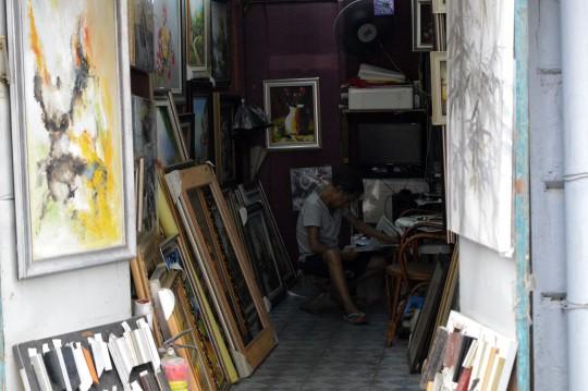 Artist in Hankou