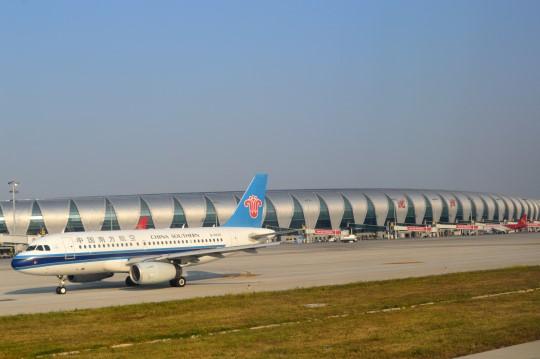 Landing in Shenyang