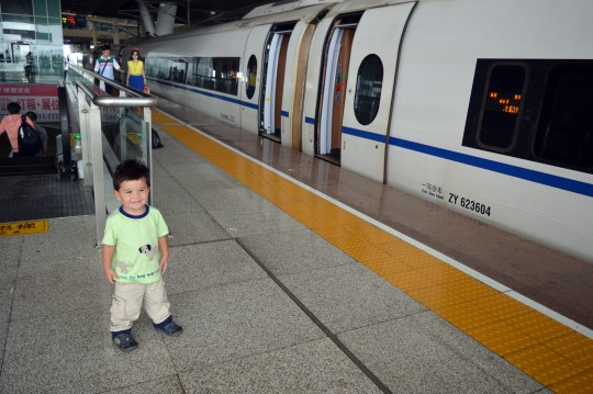 Arriving in Wuhan