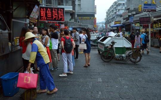 Snack Street in Hankou