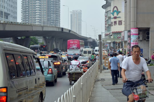Traffic in Wuhan