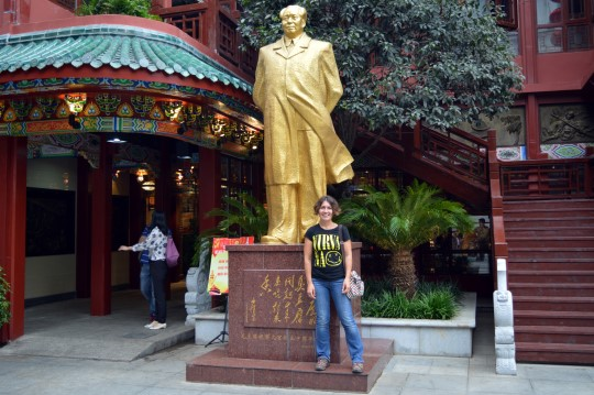 Mao in Changsha