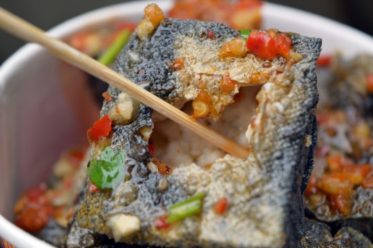 The Stinky Tofu Experience