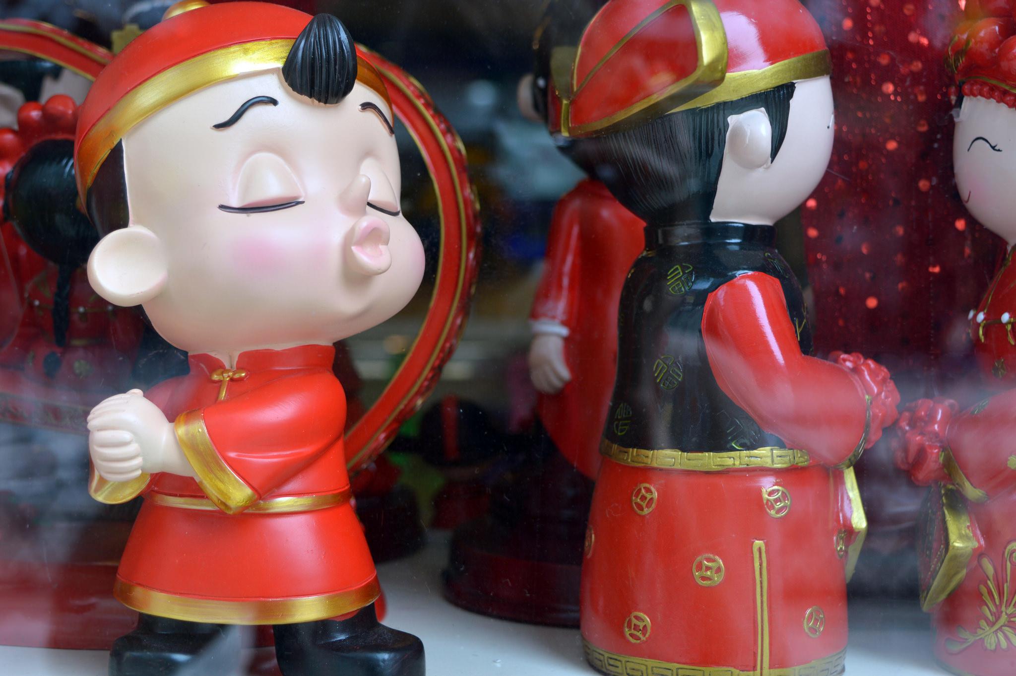 Chinese Dolls in Hankou, September 2014