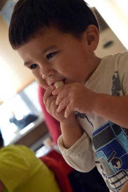 Eating Jiaozi