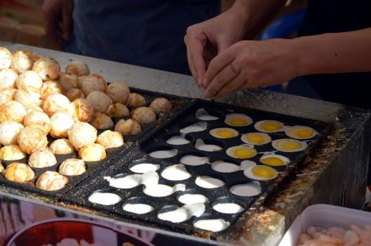 Fried Egg Dough