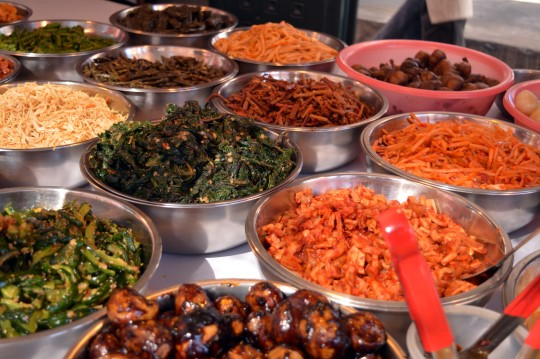 Kimchi at the Market