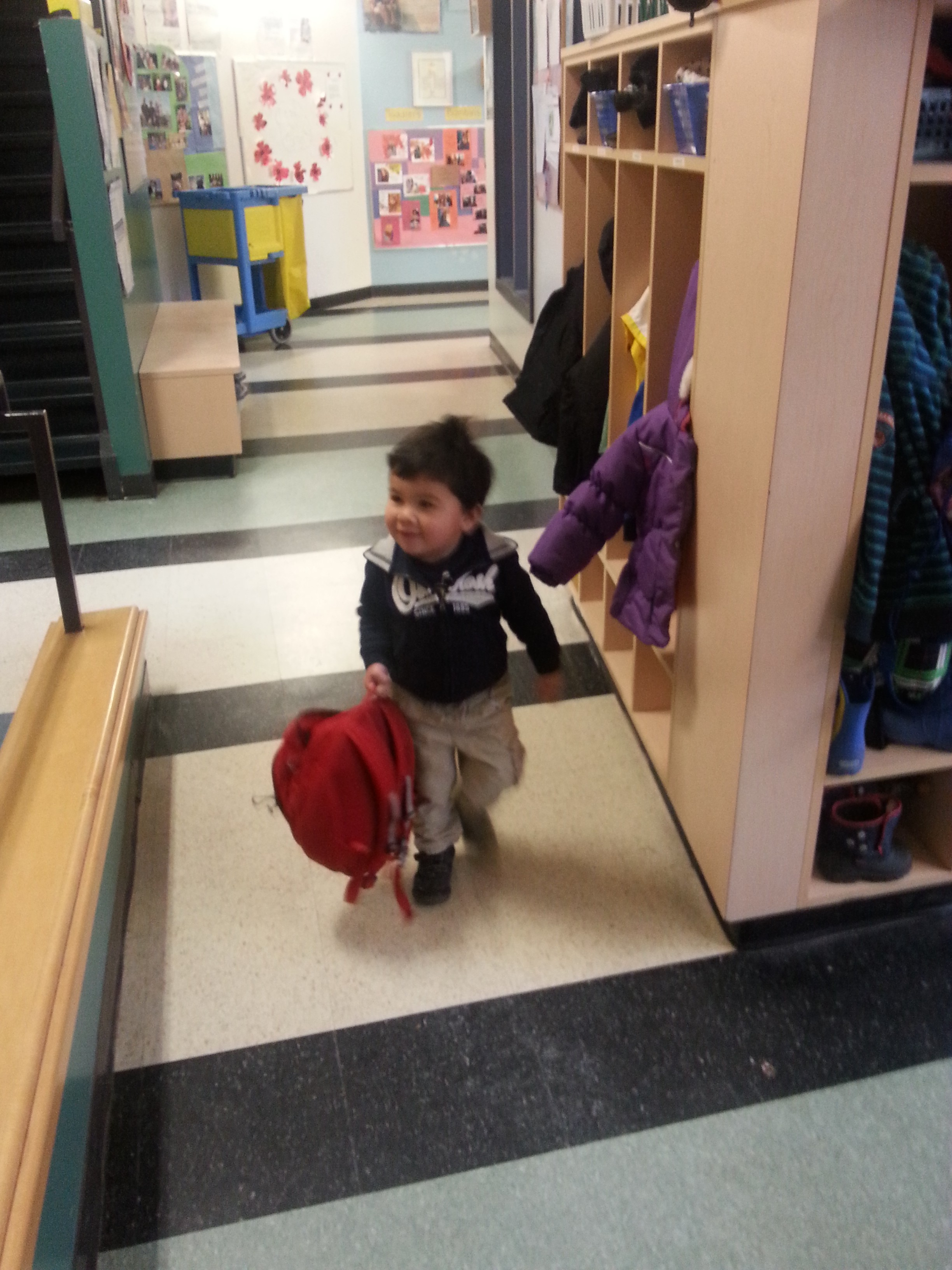 Mark Going to School, Ottawa, November 2014