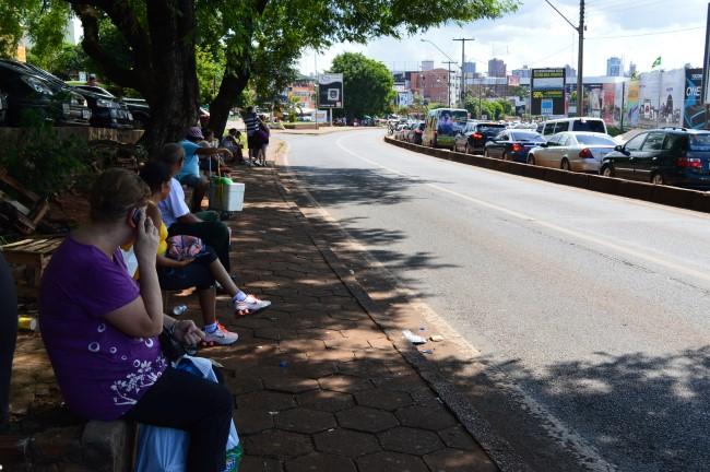 Around the The Ponte da Amizade with Paraguay