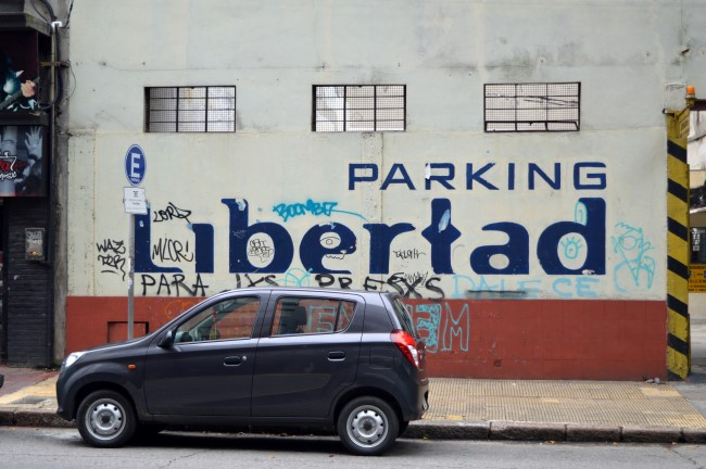 """Freedom"" Parking"