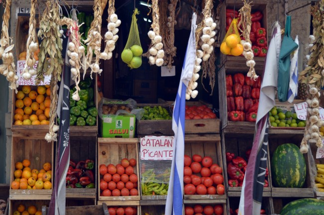 Fruits and Veggies in Old Montevideo