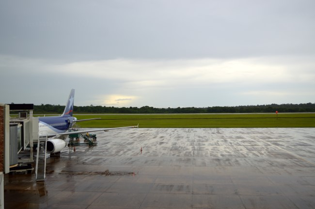 Landing in Puerto Iguazu