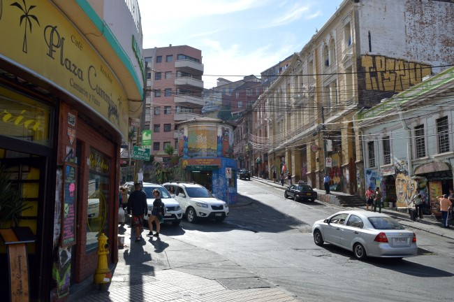 Downtown Valparaiso