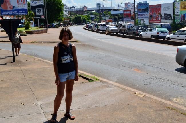 The Ponte da Amizade with Paraguay