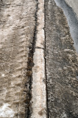 Sidewalk and Salt