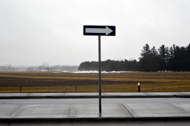 Experimental Farm (Snow melted with the rain a few days ago)